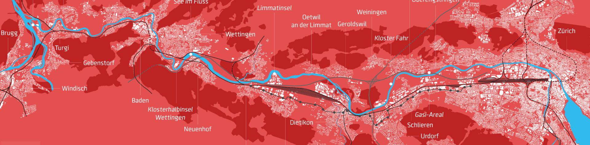 Digitales-3D-Limmatstadtmodell